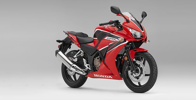 2017 Honda CBR300R in Phillipston, Massachusetts