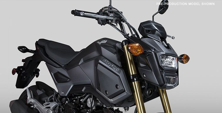 2017 Honda Grom in Columbus, Nebraska