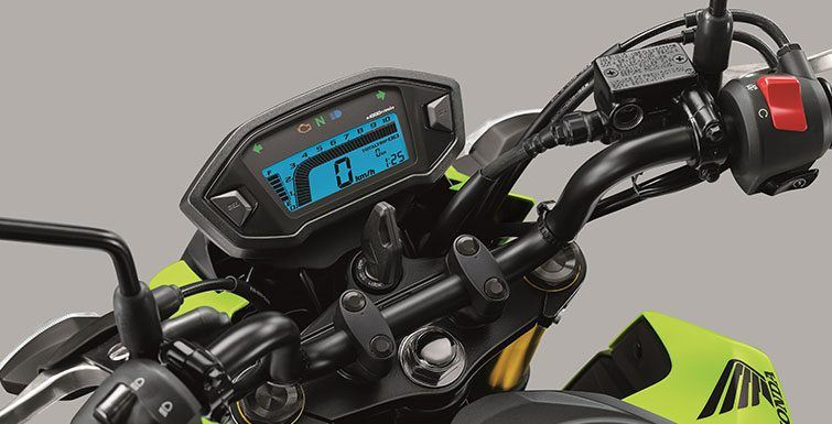 2017 Honda Grom in Phillipston, Massachusetts