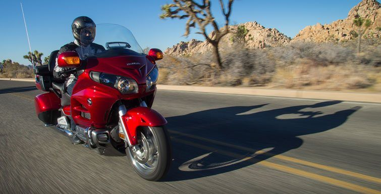 2017 Honda Gold Wing Audio Comfort Navi XM ABS in Lapeer, Michigan