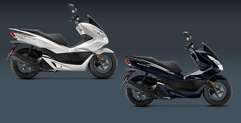 2017 Honda PCX150 in Prosperity, Pennsylvania