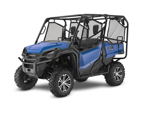 2017 Honda Pioneer 1000-5 Deluxe in West Bridgewater, Massachusetts