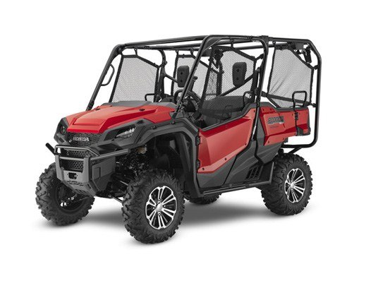 2017 Honda Pioneer 1000-5 Deluxe in Sterling, Illinois