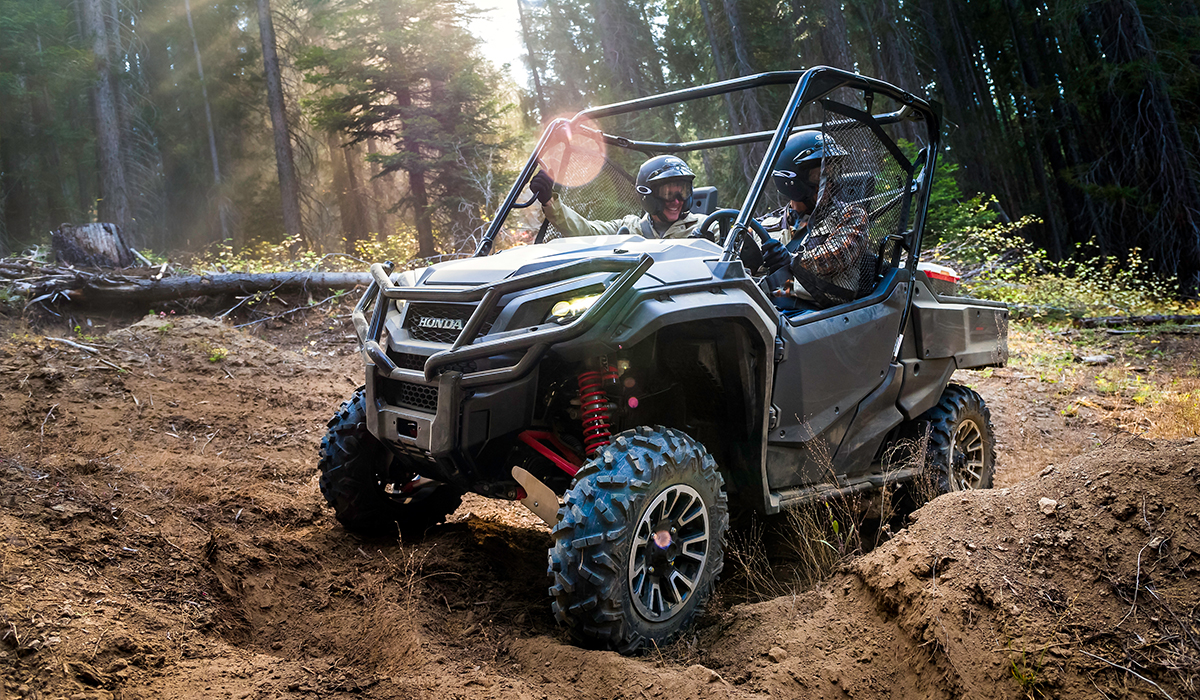 2017 Honda Pioneer 1000 LE in Lapeer, Michigan