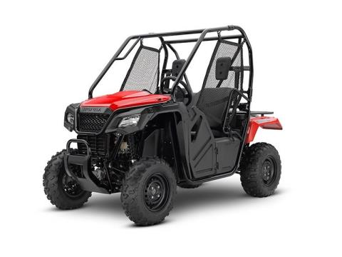 2017 Honda Pioneer 500 in Belle Plaine, Minnesota