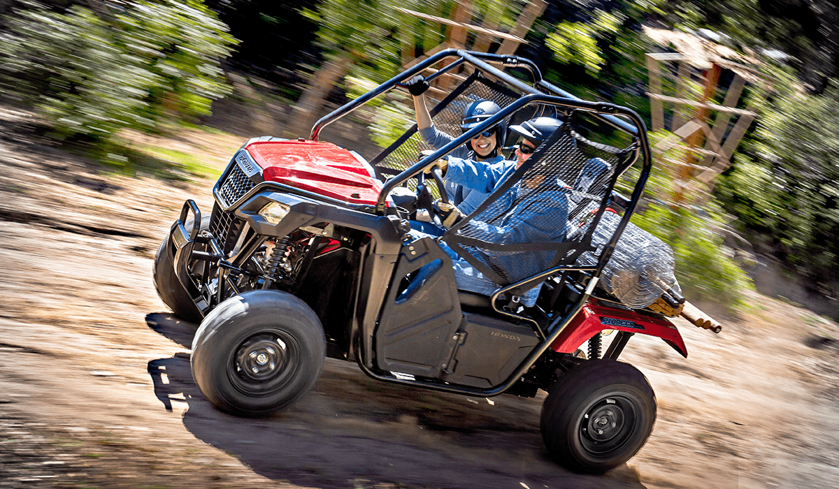2017 Honda Pioneer 500 in Newport, Maine