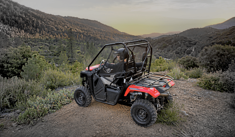 2017 Honda Pioneer 500 in Lewiston, Maine