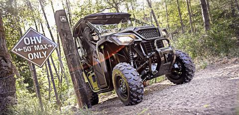 2017 Honda Pioneer 500 in Hot Springs National Park, Arkansas