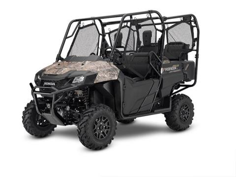 2017 Honda Pioneer 700-4 Deluxe in Erie, Pennsylvania