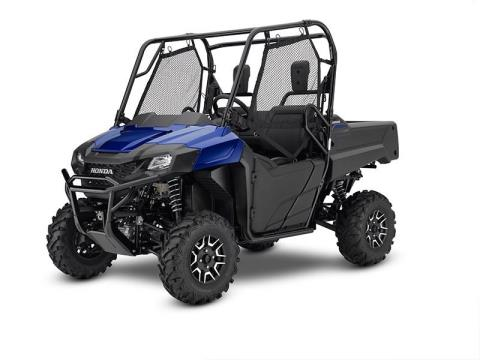 2017 Honda Pioneer 700 Deluxe in Honesdale, Pennsylvania