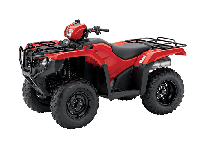 2018 Honda FourTrax Foreman 4x4 in Huntington Beach, California