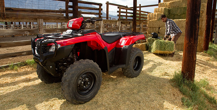 2018 Honda FourTrax Foreman 4x4 in Davenport, Iowa