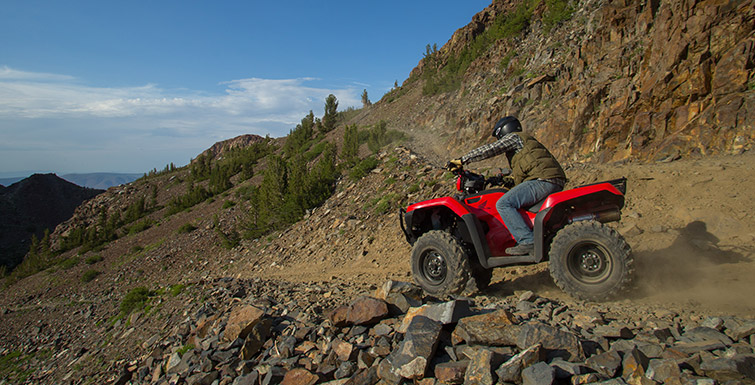 2018 Honda FourTrax Foreman 4x4 in Adams, Massachusetts