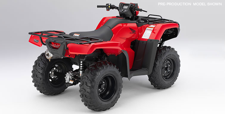 2018 Honda FourTrax Foreman 4x4 in Orange, California - Photo 5