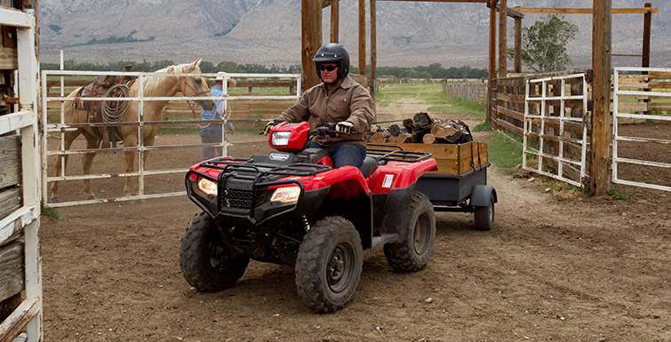 2018 Honda FourTrax Foreman 4x4 in Eureka, California