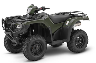 2018 Honda FourTrax Foreman Rubicon 4x4 Automatic DCT in Hollister, California