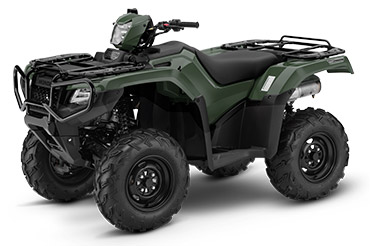 2018 Honda FourTrax Foreman Rubicon 4x4 Automatic DCT EPS in Hollister, California