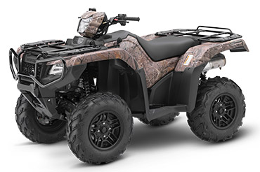 2018 Honda FourTrax Foreman Rubicon 4x4 Automatic DCT EPS Deluxe in Visalia, California