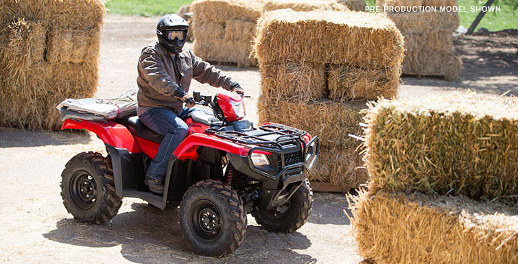 2018 Honda FourTrax Foreman Rubicon 4x4 Automatic DCT EPS Deluxe in Merced, California