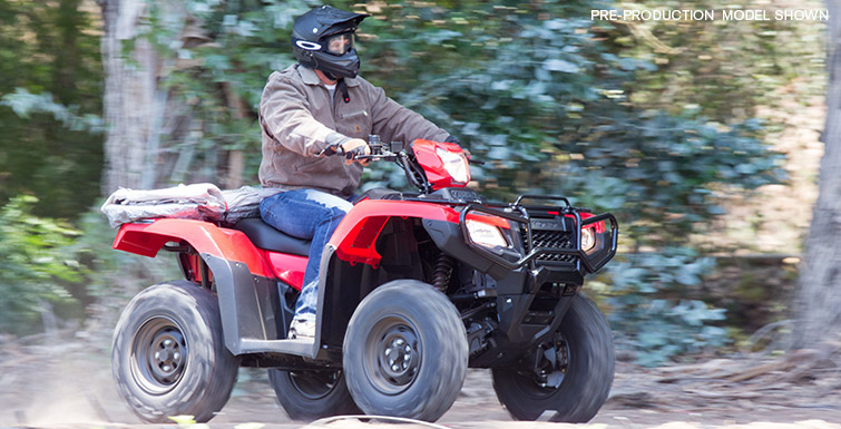2018 Honda FourTrax Foreman Rubicon 4x4 Automatic DCT EPS Deluxe in Hollister, California