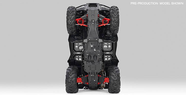 2018 Honda FourTrax Foreman Rubicon 4x4 Automatic DCT EPS Deluxe in Panama City, Florida