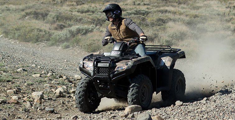 2018 Honda FourTrax Rancher 4x4 in Adams, Massachusetts