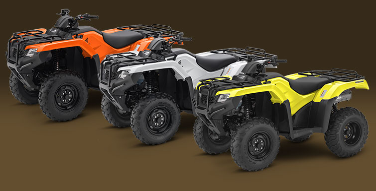 2018 Honda FourTrax Rancher 4x4 in Moline, Illinois