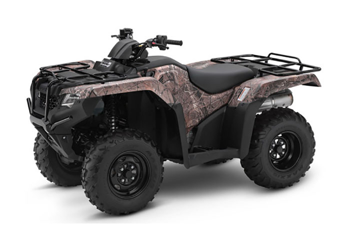 2018 Honda FourTrax Rancher 4x4 DCT EPS in Freeport, Illinois