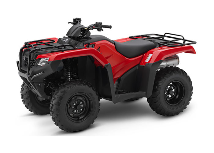 2018 Honda FourTrax Rancher 4x4 DCT EPS in Gridley, California