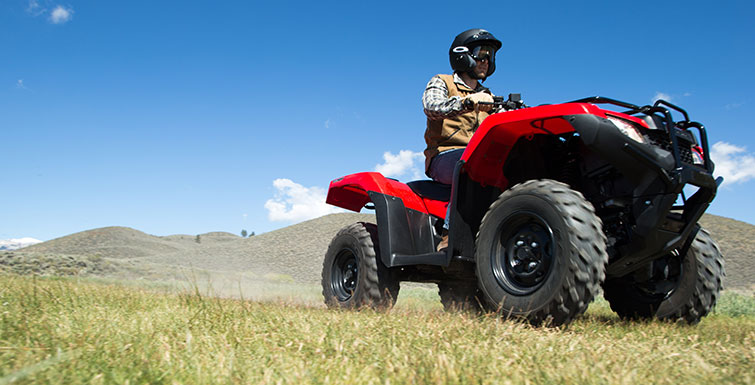 2018 Honda FourTrax Rancher 4x4 DCT EPS in Roca, Nebraska