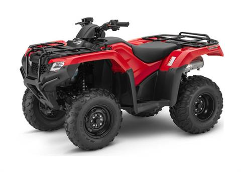 2018 Honda FourTrax Rancher 4x4 DCT IRS in Merced, California