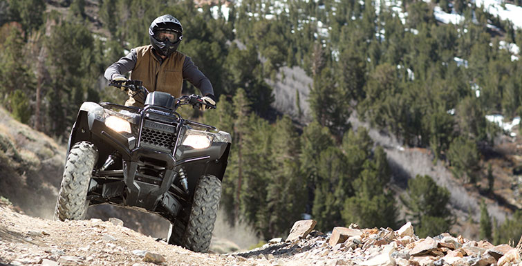 2018 Honda FourTrax Rancher 4x4 DCT IRS EPS in Hollister, California