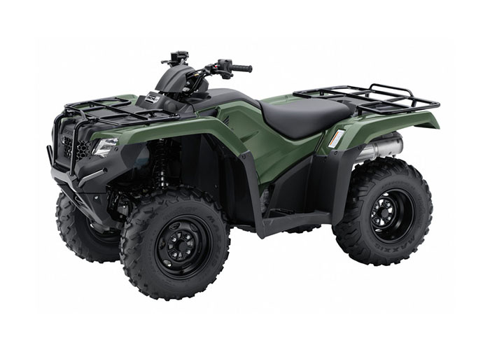 2018 Honda FourTrax Rancher 4x4 ES in Lapeer, Michigan