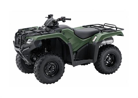 2018 Honda FourTrax Rancher 4x4 ES in Warsaw, Indiana