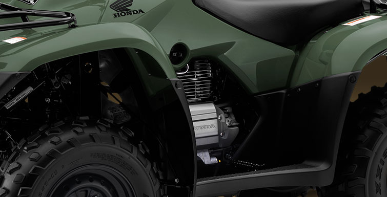 2018 Honda FourTrax Recon ES in Harrisburg, Illinois