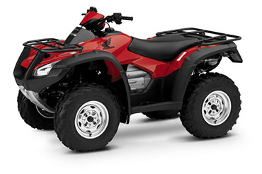 2018 Honda FourTrax Rincon in Fairfield, Illinois