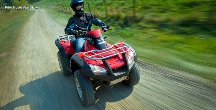2018 Honda FourTrax Rincon in Huntington Beach, California