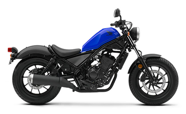 2018 Honda Rebel 300 in Phillipston, Massachusetts