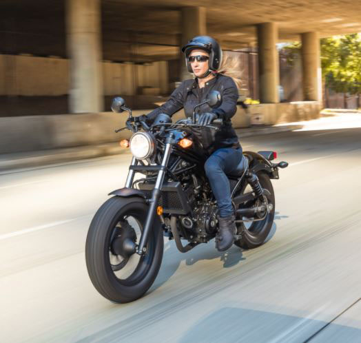 2018 Honda Rebel 300 in Monroe, Michigan