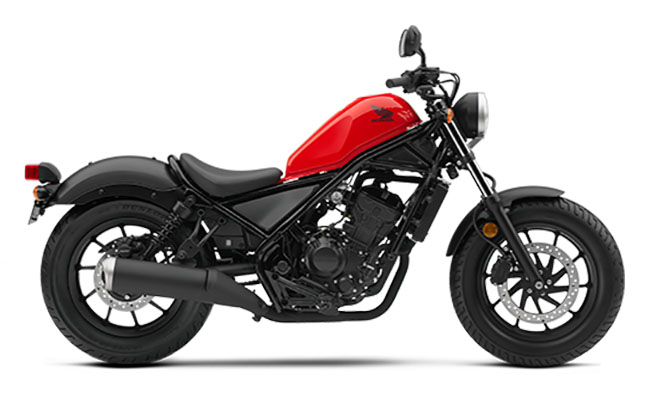 2018 Honda Rebel 300 in Troy, Ohio