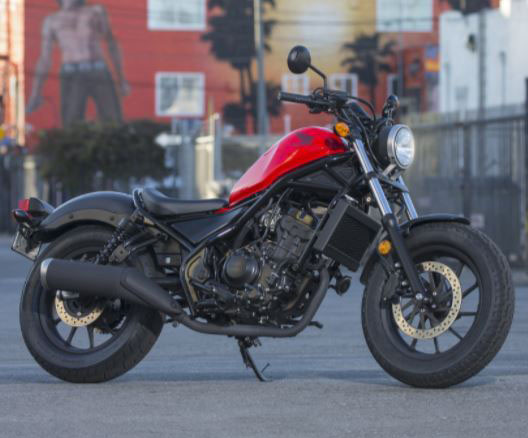 2018 Honda Rebel 300 4