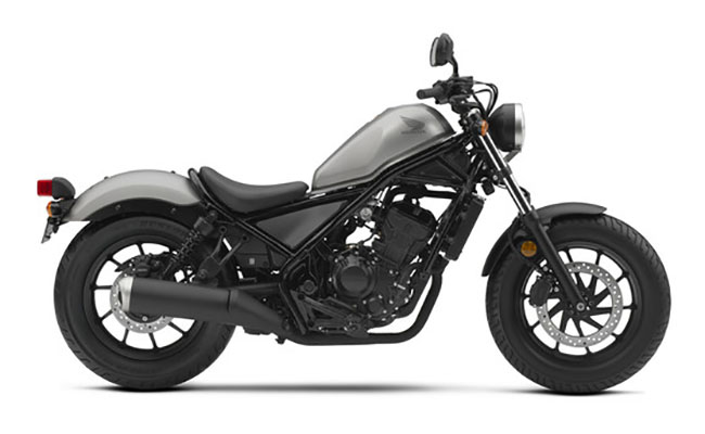 2018 Honda Rebel 300 ABS in Erie, Pennsylvania