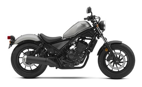 2018 Honda Rebel 300 ABS in Stillwater, Oklahoma