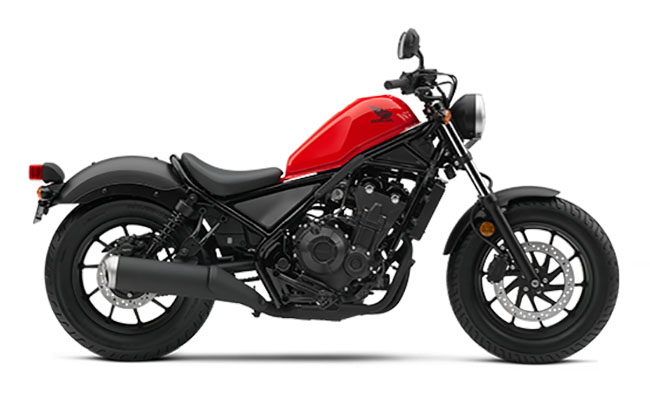 2018 Honda Rebel 500 in Sterling, Illinois