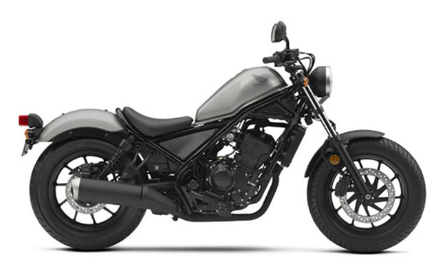2018 Honda Rebel 500 ABS in Adams, Massachusetts