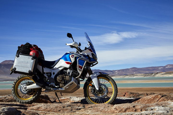 2018 Honda Africa Twin Adventure Sports in Adams, Massachusetts
