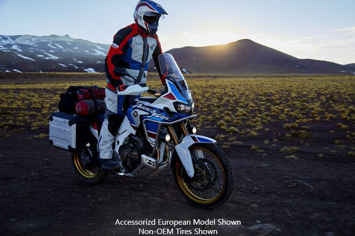 2018 Honda Africa Twin Adventure Sports in Marina Del Rey, California