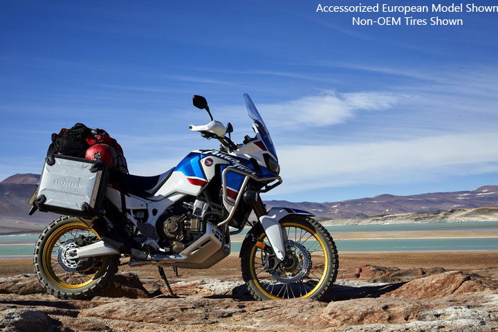 2018 Honda Africa Twin Adventure Sports in Redding, California