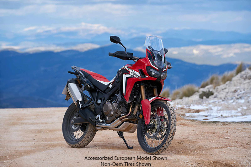 2018 Honda Africa Twin DCT in Hot Springs National Park, Arkansas