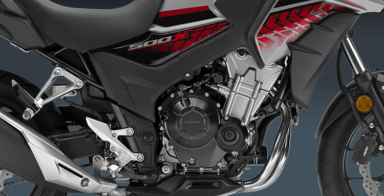 2018 Honda CB500X ABS in Elkhart, Indiana